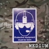 Health & Safety - Medium Sticker